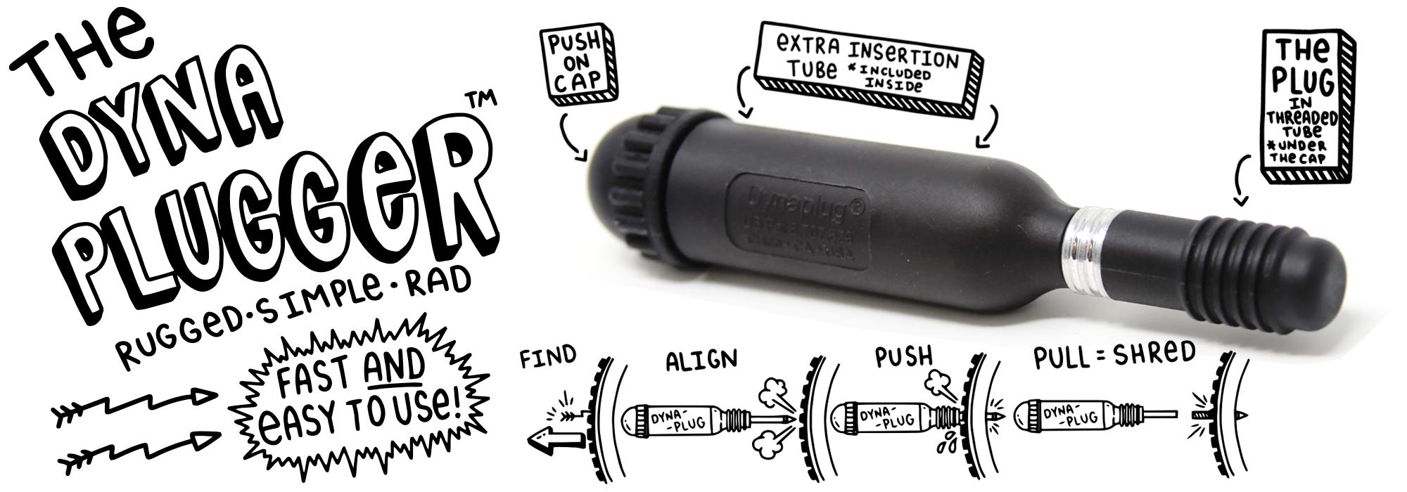 Dynaplug® Megaplugger